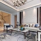 中式复式客厅设计实景