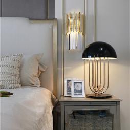 简洁美式卧室床头灯图