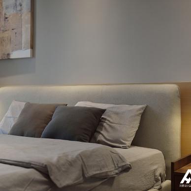「阿鹤設計」新作|没有电视背景墙的家,一样可以很优雅_3251978