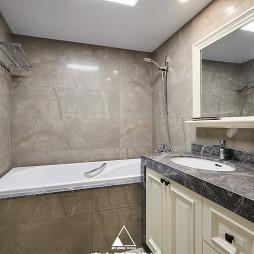 简美复式卫浴设计图片