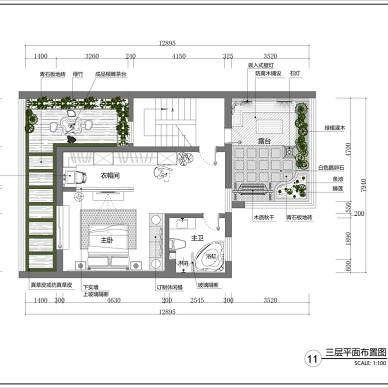 新中式洋房设计_3255946