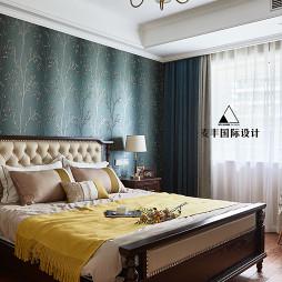 美式四居主卧室设计图片