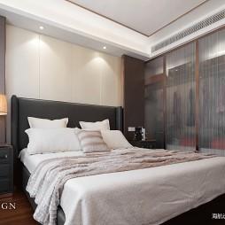 现代三居卧室衣柜设计图