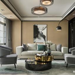 融创北京壹号庄园客厅设计图片
