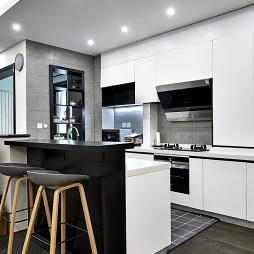 现代质感厨房设计图