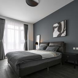 现代质感次卧设计图
