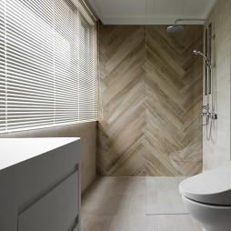 现代豪宅卫浴设计实景图片