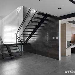 现代豪宅楼梯设计图