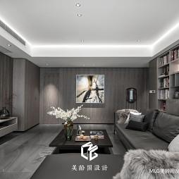 170㎡现代客厅设计图片