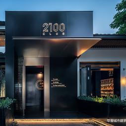 2100Club入口处设计图