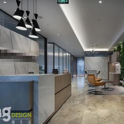 深圳湾总部基地办公区入口处设计图