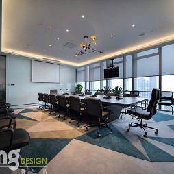 深圳湾总部基地办公区会议室设计图