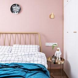 北欧主卧床头灯设计图