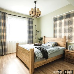 田园风卧室设计图片