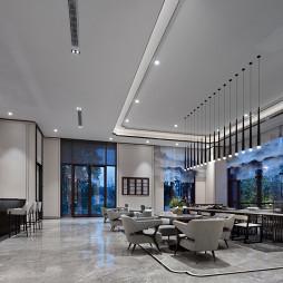 厦门中海上湾销售中心洽谈区设计