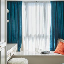 温馨混搭风卧室窗台设计图