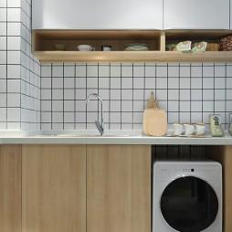 簡約樣板間廚房設計圖