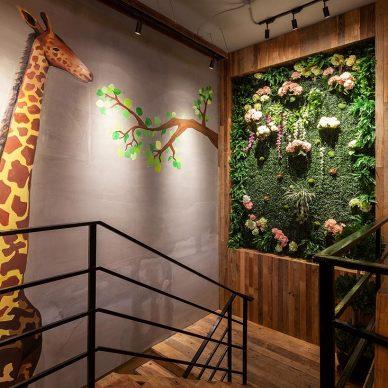 700㎡自然主题咖啡厅·享自然森林之美_3269491