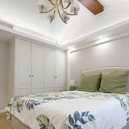 美式简约次卧室设计图