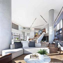 北京常營保利和錦薇棠銷售中心洽談區設計圖