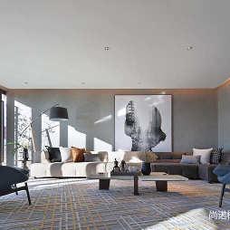 北京常營保利和錦薇棠銷售中心設計圖