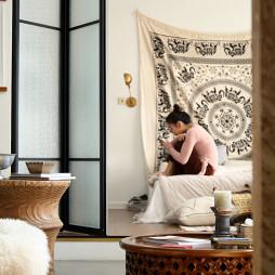 混搭卧室折叠门设计图