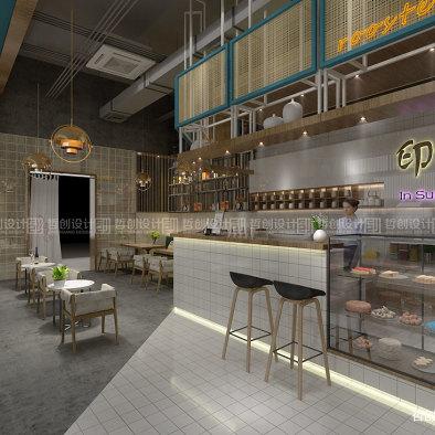 印夏天咖啡厅设计