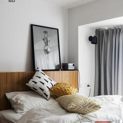 混搭风卧室床头壁灯设计图