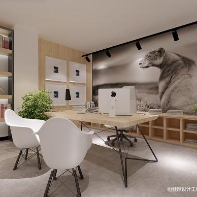 创意园loft办公室设计_3278843