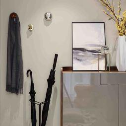 现代别墅玄关鞋柜设计图