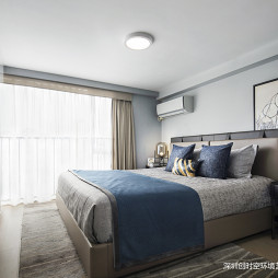 万科金域广场loft公寓主卧设计
