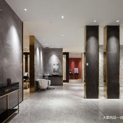 600㎡瓷砖展厅设计实景