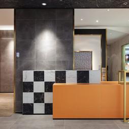 600㎡瓷砖展厅空间设计图