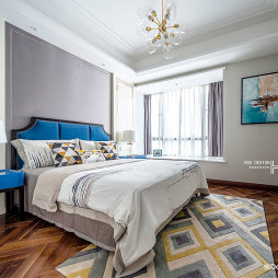 中式卧室设计实景图片