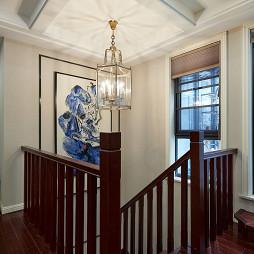 混搭楼梯吊灯设计图