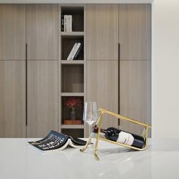 360平简约餐厅储物柜设计