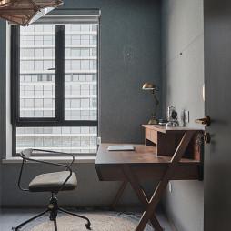 简约书房书桌设计图