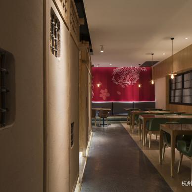 三上日本料理店内部装饰设计图