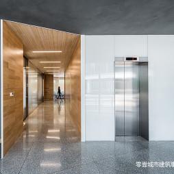 上海宝业中心入口走道设计