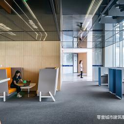 上海宝业中心办公区设计