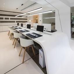 现代美学办公室办公桌设计