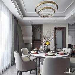 魅力混搭别墅餐厅设计