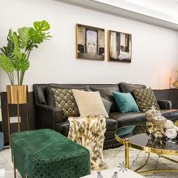美式风三居客厅设计欣赏