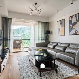 舒适简约风二居客厅设计