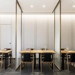 时风间概念中餐厅隔间设计