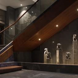 英溪河畔精品酒店楼梯设计