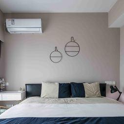 浪漫北欧三居卧室设计