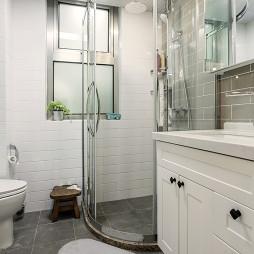 美式三居浴室设计效果