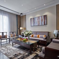 大气中式别墅客厅设计