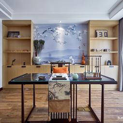 大气中式别墅书房设计